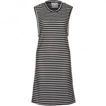 Fairground Sommerkleid black white striper