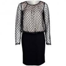 Fairly Cocktailkleid / festliches Kleid black gepunktet