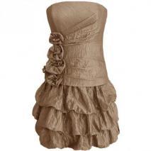 Fashionart Ballkleid braun
