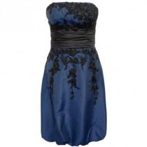Fashionart Ballkleid dunkelblau Trägerlos