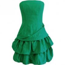 Fashionart Ballkleid flaschengrün