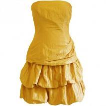 Fashionart Ballkleid gelb