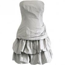 Fashionart Ballkleid grauweiß