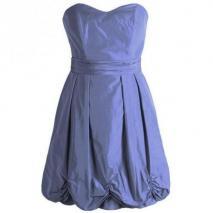Fashionart Ballkleid hellblau violett