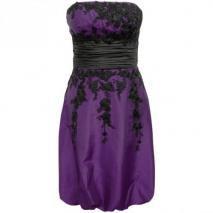 Fashionart Ballkleid purple Trägerlos