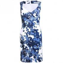 Fashionart Cocktailkleid / festliches Kleid blauweiß