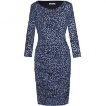 Fashionart Jerseykleid blau/schwarz