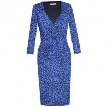 Fashionart Jerseykleid blue black