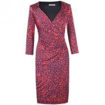 Fashionart Jerseykleid red blue