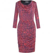 Fashionart Jerseykleid rot/blau