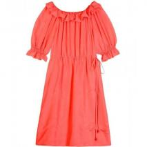 Fendi Puffed Sleeve Dress