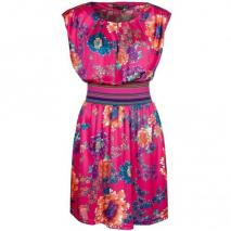 Fever London Menorca Sommerkleid fuchsia