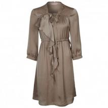 Fornarina Meaux Blusenkleid grey brown