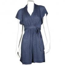 French Connection Jersey-Kleid Coralie blau