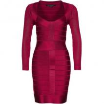French Connection Spotlight Jerseykleid ruby red