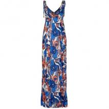 French Connection Tahiti Floral Sommerkleid daisy white / balm blue