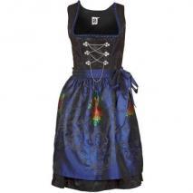 German Princess Cocktailkleid / festliches Kleid blue