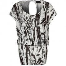 Gestuz Campdr Jerseykleid black/white