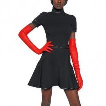 Givenchy Seiden Satin Auf Viskose Punto Milano Kleid