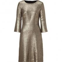 Goat Gold Metallic 3/4 Sleeve Dress