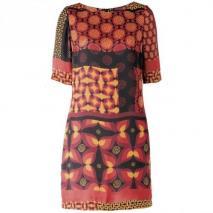 Hallhuber Jerseykleid multicolor