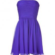 Halston Heritage Purple Strapless Swing Kleid