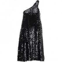 Halston Kleid Black