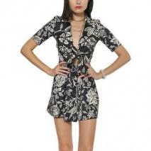 Isabel Marant Bedrucktes Kleid Aus Seidentwill & Seidenpopeline