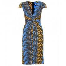 Issa Drape-Kleid Mit Print