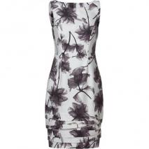 Jason Wu Black/White Floral Shift Dress