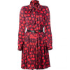 Jason Wu Red Ascot Belted Dress