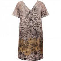 Jo No Fui Gerade geschnittes Kleid mit Print