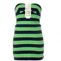 Juicy Couture Bandeau-Kleid Multicolor