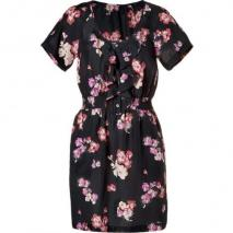 Juicy Couture Black Scattered Blooms Dress
