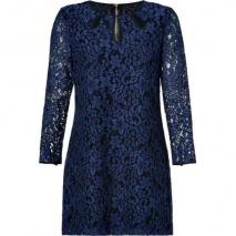 Juicy Couture Dark Sapphire Winter Lace Dress