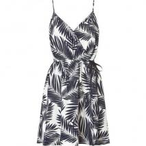 Juicy Couture Regal Printed Strappy Silk Dress