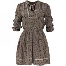 Juicy Couture Seidenkleid Khaki
