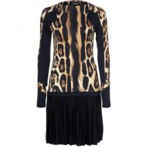 Just Cavalli Jerseykleid black