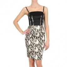 Just Cavalli Kleid Im Stretch Satin