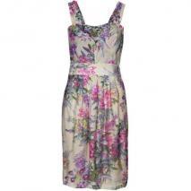 Kala Nina Dress Sommerkleid beige/purple