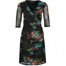 King Louie Florence Blusenkleid black