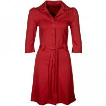 King Louie Milano Blusenkleid ruby
