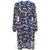 lala Berlin Kleid Babylon blau