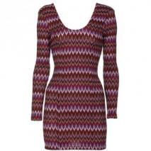 Lovers + Friends Crochet Dreams Bordeaux Zig Zag