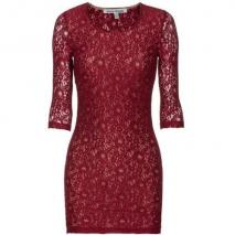 Lovers + Friends Sway Maroon Lace