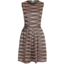 M Missoni Cocktailkleid / festliches Kleid pink/brown/gold/black