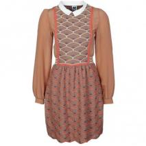 M Missoni Strickkleid brown