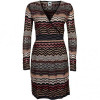 M Missoni Strickkleid mutlicolor