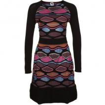 M Missoni Strickkleid noir
