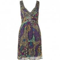 Magic Woman ärmelloses Kleid Multicolor